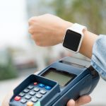 Smart wtach pay with pos terminal